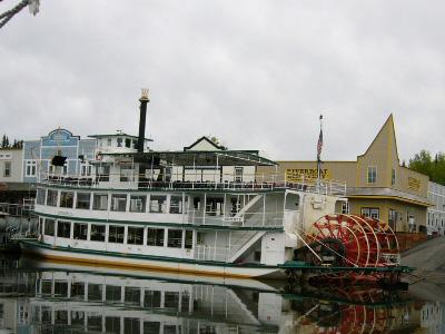 チェナ川外輪船