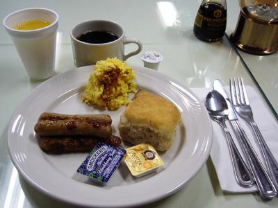 チェナホットスプリングス朝食