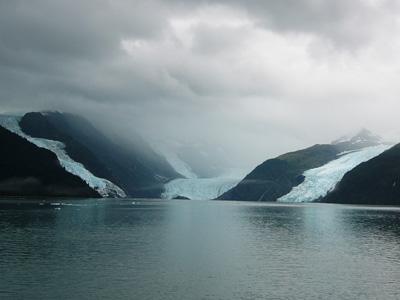3つの氷河