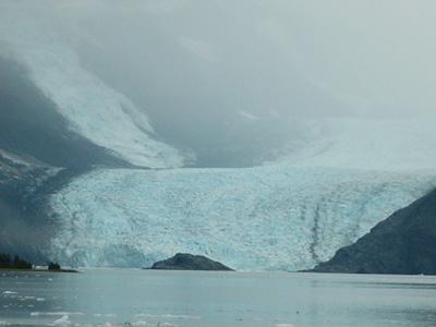 バリー氷河アップ