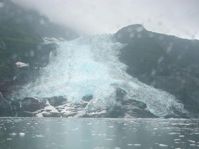 カスケード氷河アップ