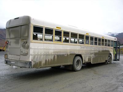 デナリ国立公園ツアーバス
