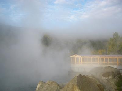 チェナホットスプリングス岩風呂