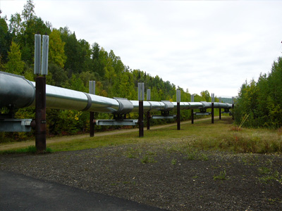 アラスカ石油パイプライン