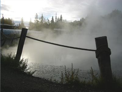 岩風呂の源泉